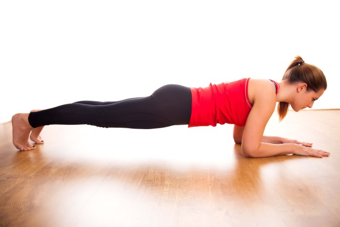 planks for lower back pain relief