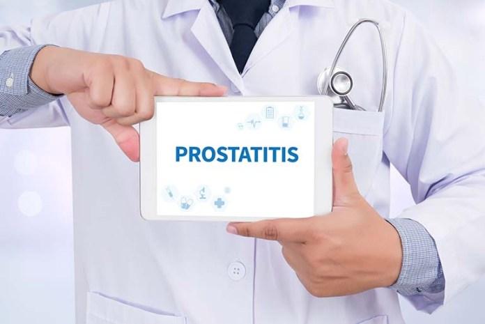 56888281 - prostatitis doctor holding digital tablet