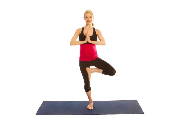 Vrksasana for better posture