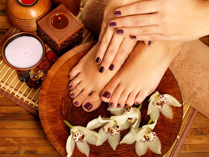 Get an occasional pedicure or massage to relax.