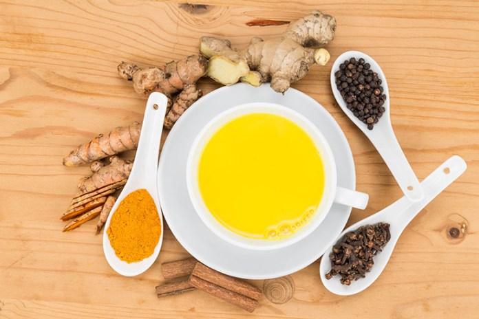 Milk and turmeric:10 Ways To Get Rid Of Chest Congestion Naturally