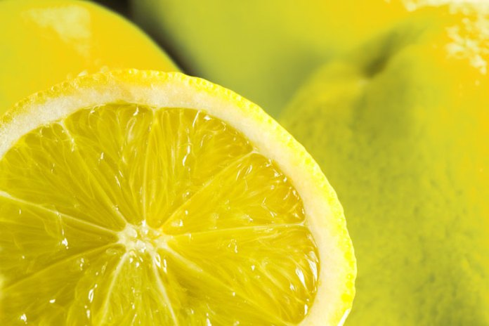 lemon helps to get rid of bad smell from hair