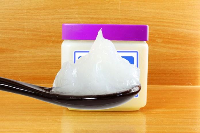 Petroleum jelly: Nasal Saline Drops