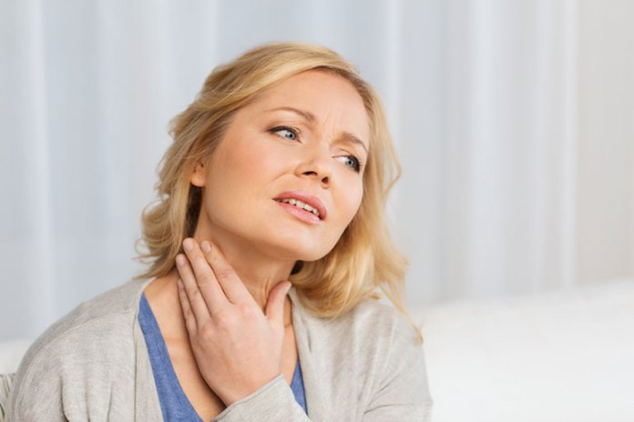 almond milk irritates your thyroid glands