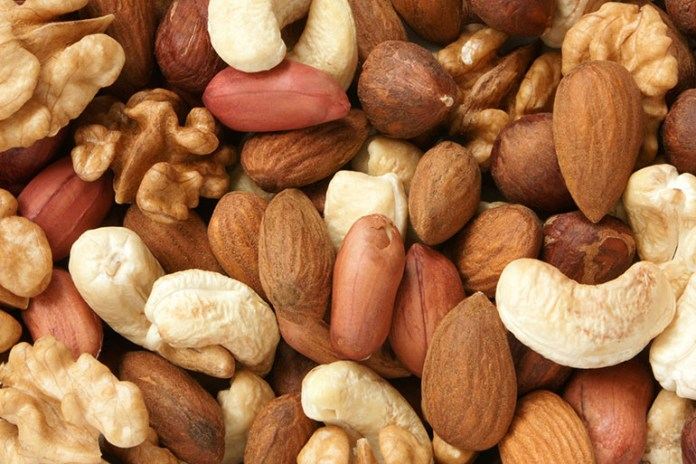 Nuts: Top 10 Energy Boosting Superfoods During Pregnancy