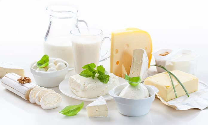 Dairy products helps us against vision loss