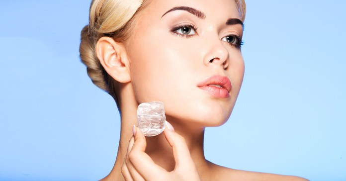 Benefits Of Ice Cubes For Skin
