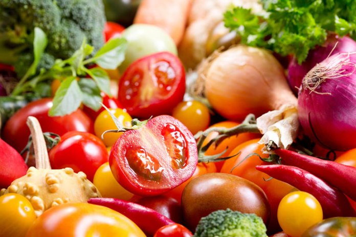 Eat more vegetables for a healthy diet