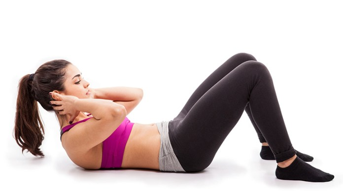 oblique-crunch-and-abdominal-crunch: best exercises to lose belly fat