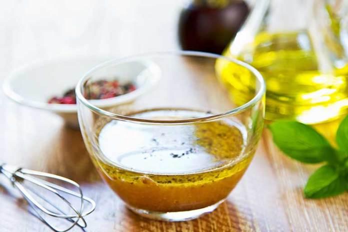 substitute for apple cider vinegar in salad dressing