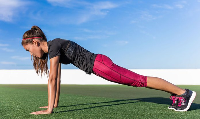 front-plank: best exercises to lose belly fat