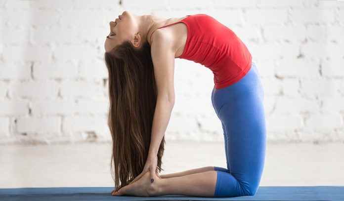 Camel Pose_Best Exercises To Do During Your Periods