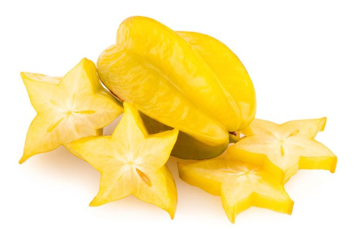 star fruit is a low-calorie fruit