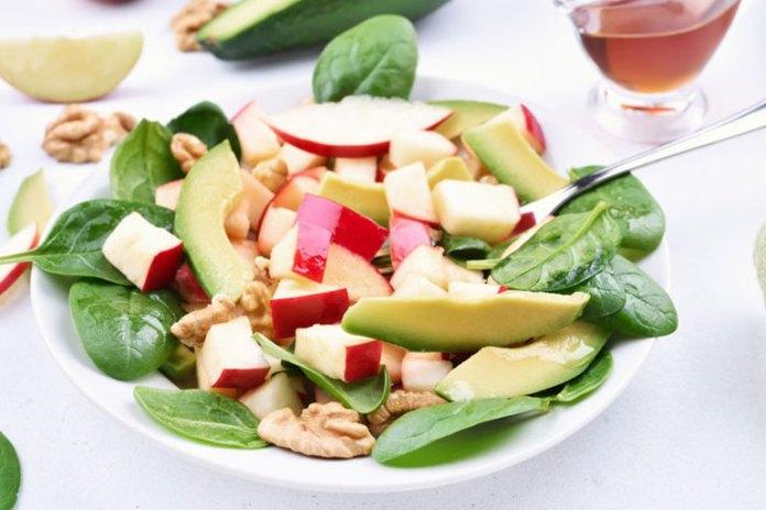 Recipe: Apple, Avocado, Cranberry, and Walnut Salad