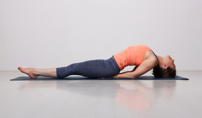 The Fish (Matsyasana)_Yoga Asanas For Upper, Middle, and Lower Back Pain Relief