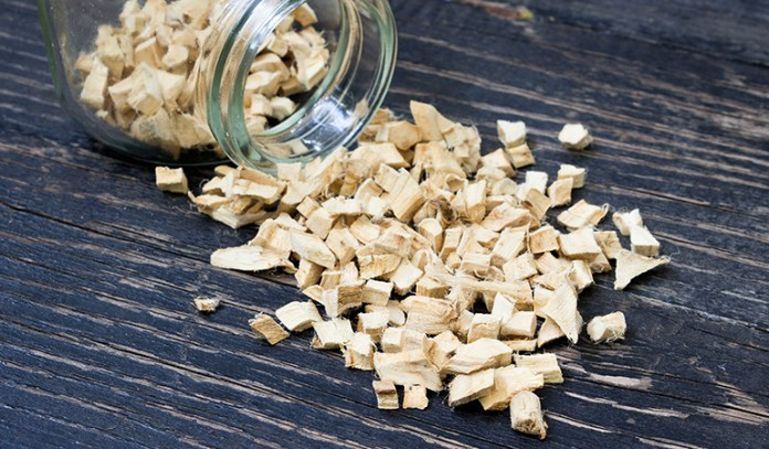 Marshmallow root is a natural diuretic for kidney stones