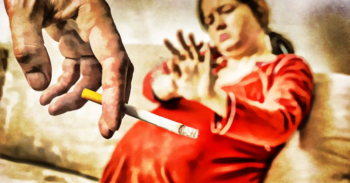 effects of passive smoking during pregnancy