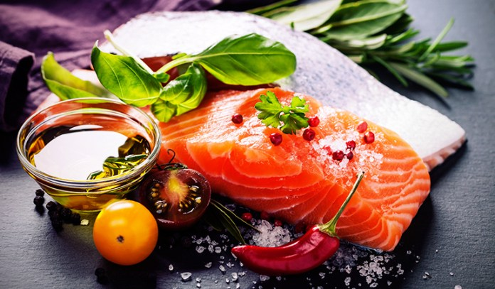 Salmon is loaded with nutrition for brain
