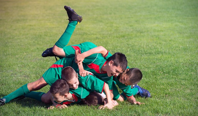 sports is important for kids' social wellbeing