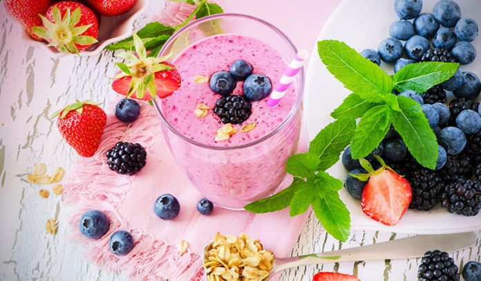 Berries are packed with antioxidants