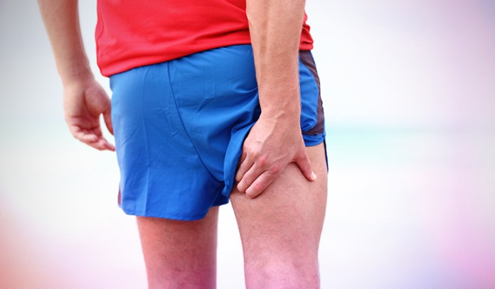 Overstretching causes muscle pull