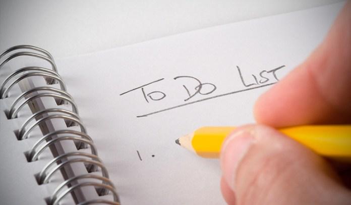Set Yourself Tasks To Finish