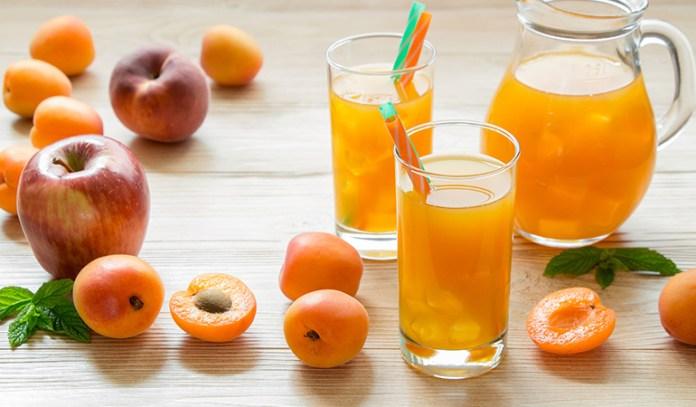 Apple and peach juice to treat sleep disorders