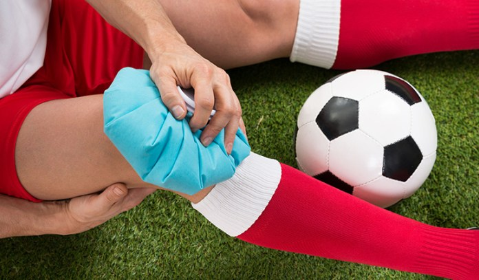 natural treatments for hamstring injury ice pack