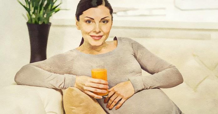 Benefits of Orange Juice during pregnancy