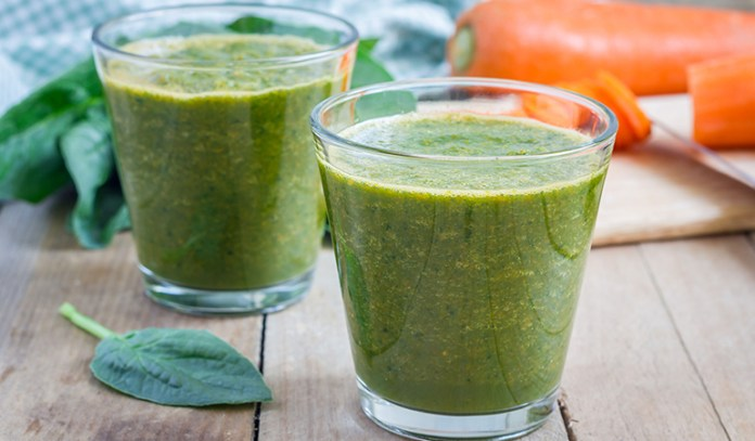Carrot and spinach juice can help treat sleep-related problems