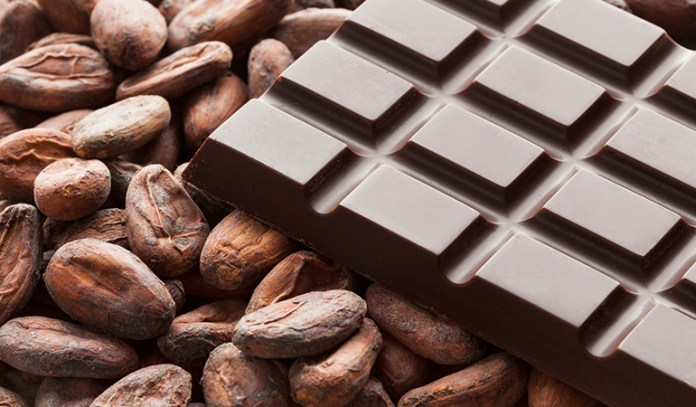 Headaches caused by chocolate are symptoms of migraines, not a cause