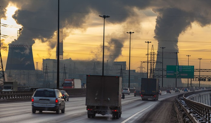 Exposure to polluted air causes diseases