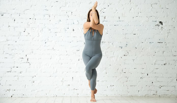 Garudasana Can Help Improve Your Concentration