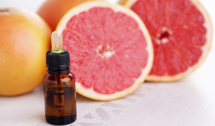 Grapefruit oil-an aromatherapy oil for weight loss, curbs cravings.