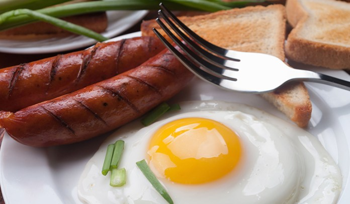 Greasy Breakfast Leads To Constipation