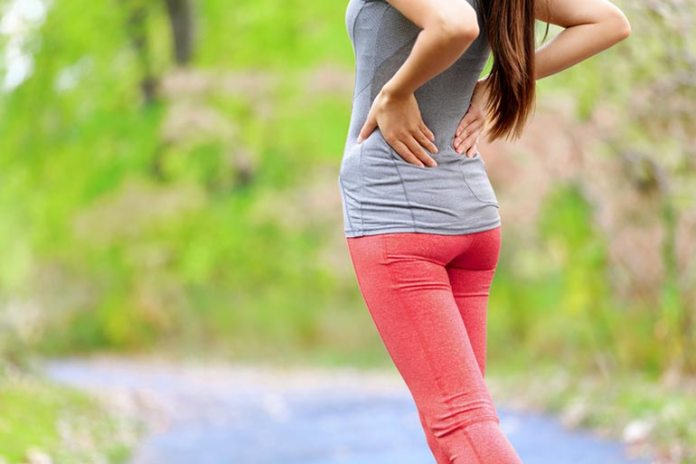 Wearing tight bra causes back pain