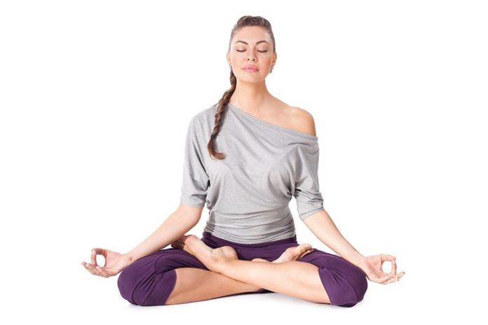 Lotus Pose With Gyan Mudra Reduces Stammering