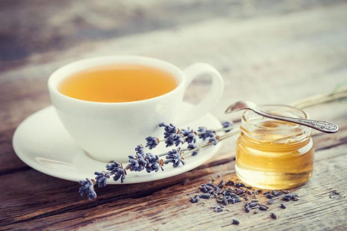 Lavender tea is a good cure for hangover