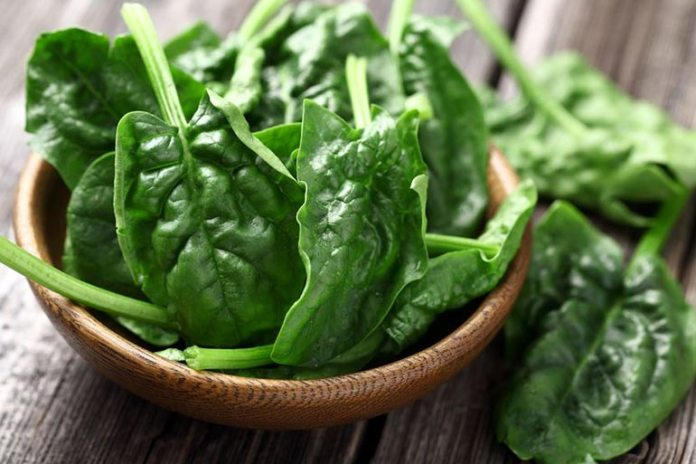 Spinach Is Good For Skin