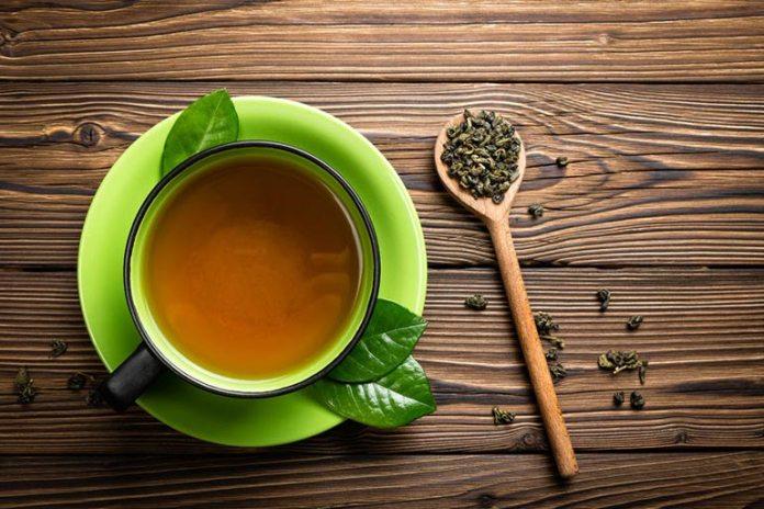 Green tea helps cure a hangover