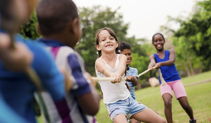 importance of outdoor play overall health