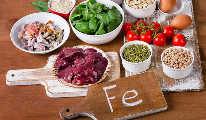 diet for children with adhd iron rich foods