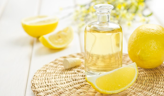 Lemon oil-used in aromatherapy for weight loss, helps muscles work faster.