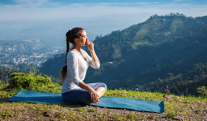 Shift focus from anger with Pranayama