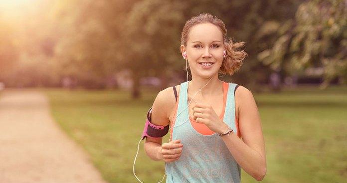 Running improves mood in women