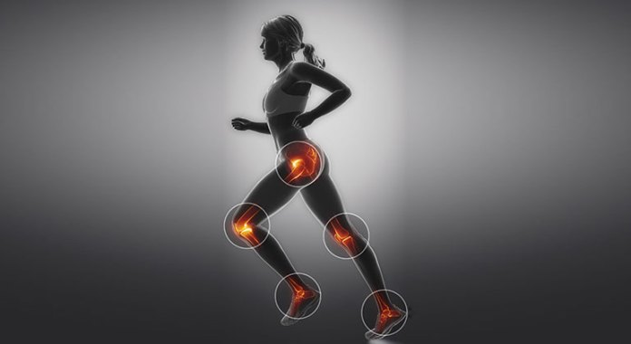 Running strengthen knees and joints in women