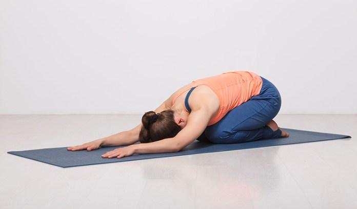 Shishuasana (Child's Pose)_Yoga Poses For Coccydynia