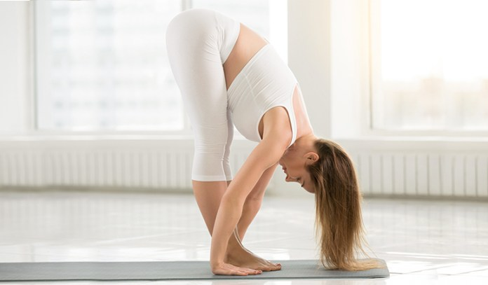 Yoga for tailbone standing forward bend