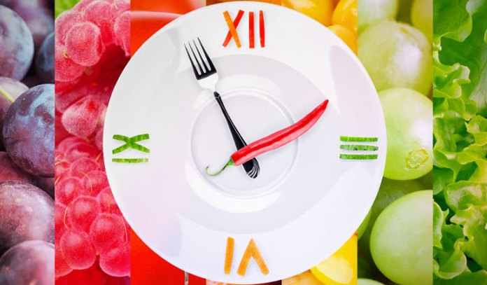 Don't eat fruits with heavy meals