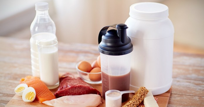 Healthy and portable high protein snacks
